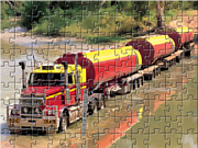 Permainan Road Train Truck Puzzle
