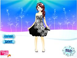 Snowflake Ball Makeover game