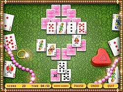 Beauty Princess Tripeaks game
