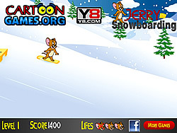 Jerry Snowboarding game