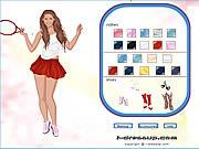 เล่นเกมฟรี Anna Kournikova Dress