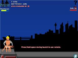 Human Launch game