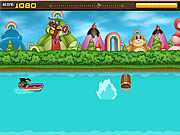 Play Rainbow monkey rundown Game