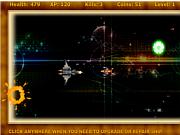 Space Patroling game