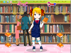 Library girl game