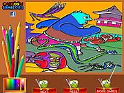 Kung Fu Panda Coloring Game game