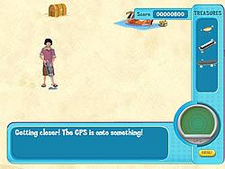 Hannah Montana: Oliver's Treasure Hunt game