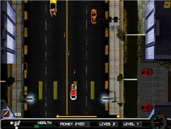 Police Rush game