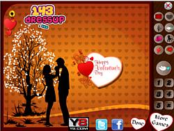 Valentines Card Design game