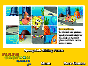 Spongebob Sliding Puzzle game