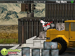 Stunt Moto Mouse game