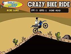 Crazy Bike Rider game