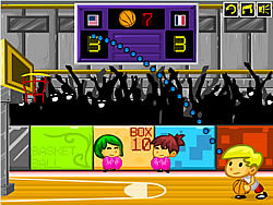 Basketball Heroes game