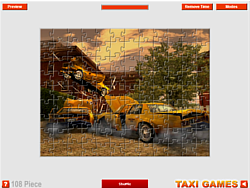 Crash Taxi game