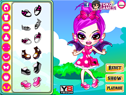 Pink Vampire Princess game