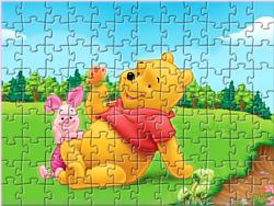 Jogar jogo grátis Winnie the Pooh Puzzle