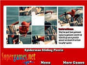 Spiderman Sliding Puzzles game