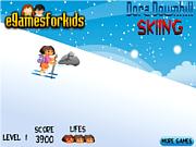 Dora Downhill Skiing game