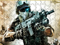 Urban Soldier Jigsaw game