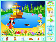Peter Pan Neverland Decoration game