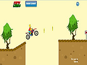 juego Bart Simpsons Bike