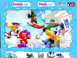 Jolly Jigsaw - Looney Tunes game