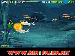 Ben 10 Sea Monster game