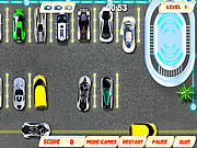 Futuristic Auto Parking game