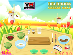 Cherry Cake Delicious game