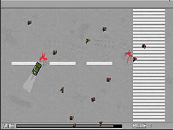 Pedestrian Killer game