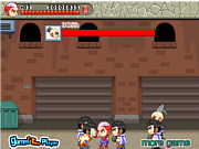 Fighting team game