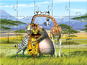 Madagascar Jigsaw Puzzle game