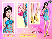 It Girl-Dress Up Like Barbie game