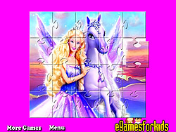 Barbie Jigsaw Puzzle Game game
