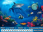Fish Hidden Letters game