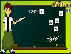 Ben 10 Math Game game