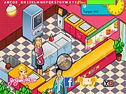 Burger Restaurant Hidden Letters game