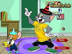 Tom and Jerry Dress Up game
