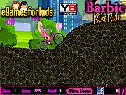 Barbie Bike Bike game