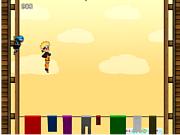 Juega al juego gratis Super Naruto Jump