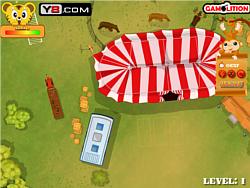 Circus Caravan Parking game