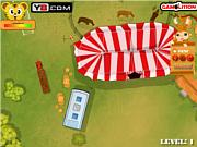 juego Circus Caravan Parking