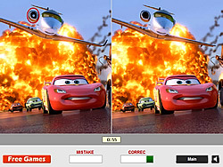 Cars - Find the Differences game