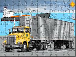 Cargo Truck Jigsaw game