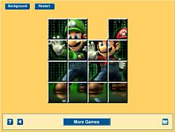 Mario Matrix Sliding game