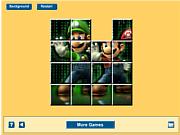 Jogar jogo grátis Mario Matrix Sliding