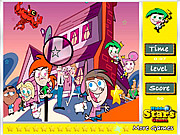 The Fairly Odd Parents Hidden Stars game