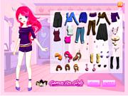 Bella Dress Up game