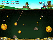 St Patricks Gold Miner game
