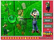 Juega al juego gratis Luigi Hidden Stars